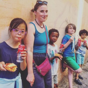 Andie and kids